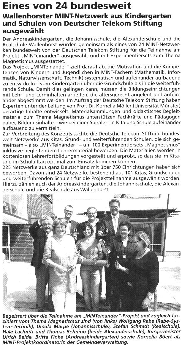 Bürgerecho, 04.09.13