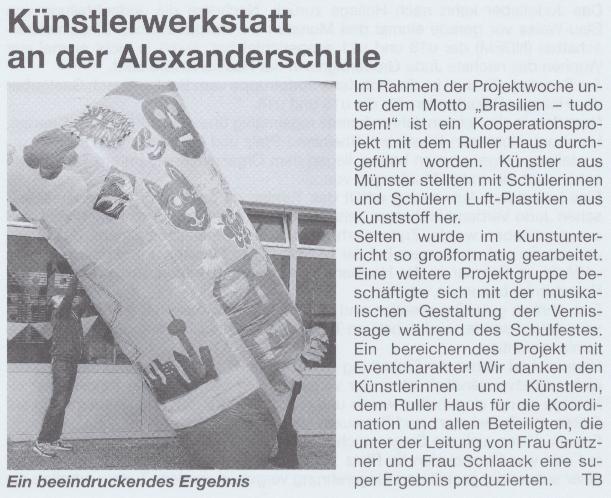 Bürgerecho vom 18. Juni 2014