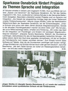 Sparkasse Bürgerecho